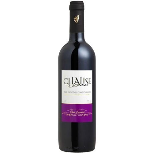 Vinho Brasileiro Chalise 750ml Seco Tinto