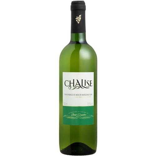Vinho Brasileiro Chalise 750ml Suave Bco