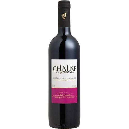 Vinho Brasileiro Chalise 750ml Suave Tinto