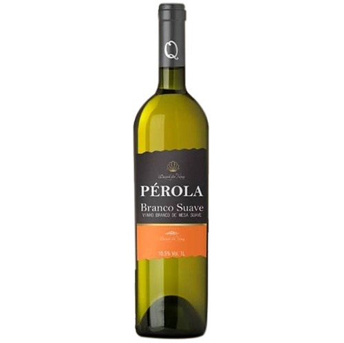 Vinho Brasileiro Perola 750ml Branco Suave