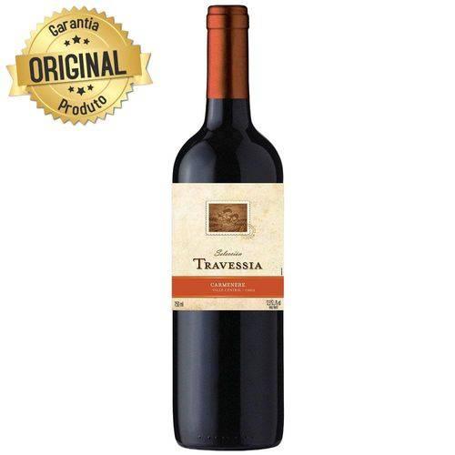 Vinho Chileno Travessia Carmenere Tinto Seco Garrafa 750ml - Concha Y Toro