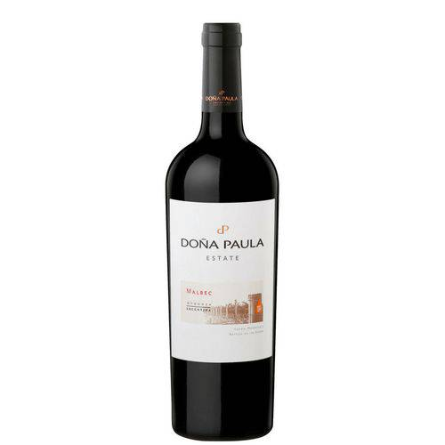Vinho Dona Paula Estate Malbec Tinto 750 Ml