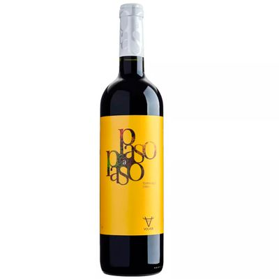 Vinho Espanhol Paso a Paso Tempranillo-Syrah VDT Castilla 2016