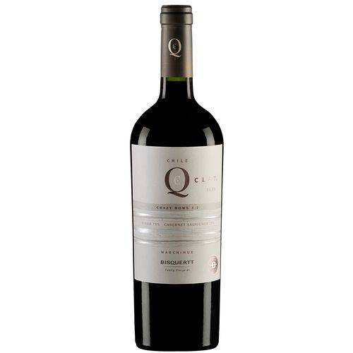 Vinho Q Clay Cabernet Sauv / Syrah Tinto 750 Ml