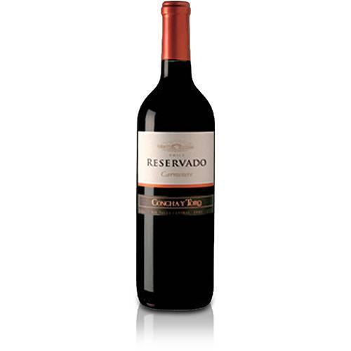 Vinho Tinto Chileno Concha Y Toro Reservado Carménère 2005 750 Ml