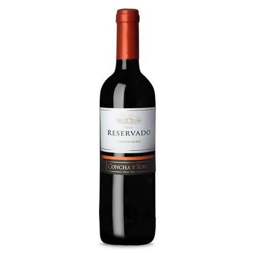 Vinho Tinto Chileno Reservado Carmenere Concha Y Toro