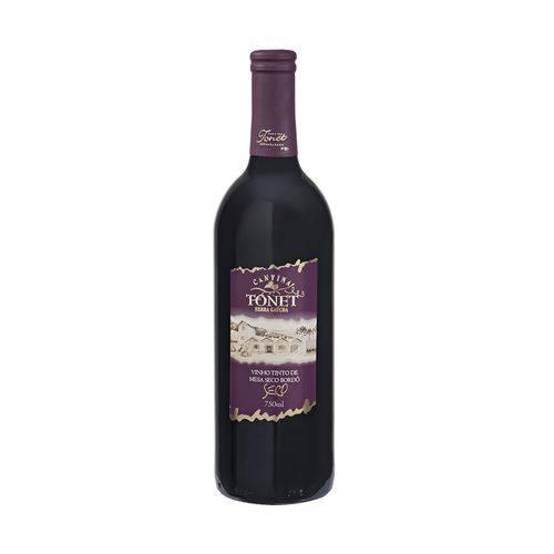 Vinho Tinto de Mesa Seco Bordô Cantina Tonet