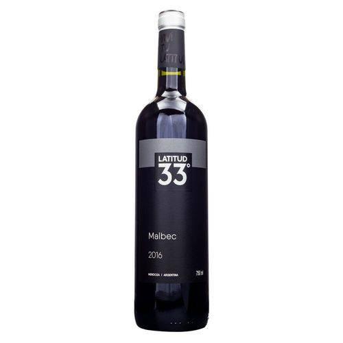 Vinho Tinto Latitud 33 Malbec - 750ml