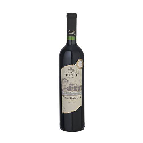 Vinho Tinto Seco Cabernet Sauvignon Cantina Tonet