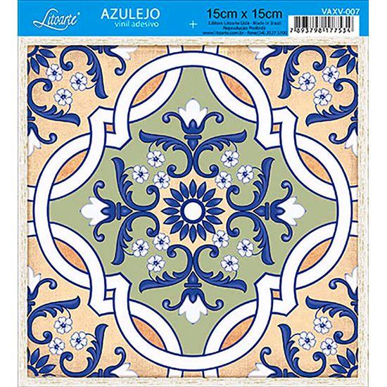 Vinil Adesivo Azulejo Decorativo e Parede VAXV-007 - Litoarte