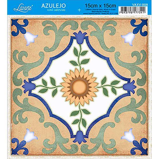 Vinil Adesivo Azulejo Decorativo e Parede VAXV-008 - Litoarte