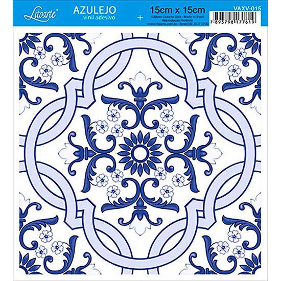 Vinil Adesivo Azulejo Decorativo e Parede VAXV-015 - Litoarte