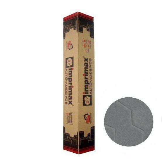 Vinil Gold Colmeia Metálico Cinza Médio 120g 1,22mtx50mts