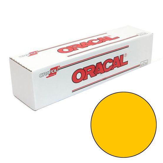 Vinil ORACAL 651 Amarelo 0,63mtx50mts