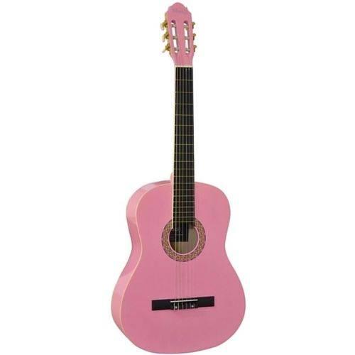 Violão Acústico Kuati Ks2 Nylon Clássico Rosa