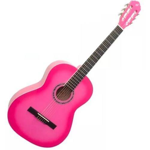 Violao Criança Infantil 1/2 Giannini N4 Pink