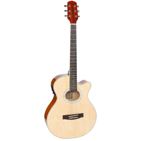 Violao Giannini Gsf 1d Ceq Eletroacustico Aço Ng - Natural Glossy