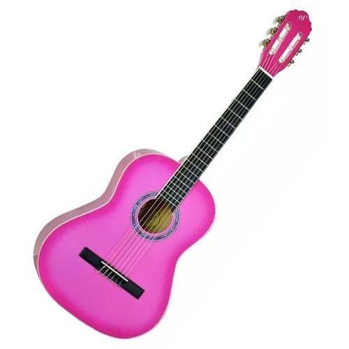 Violão Giannini Start Infantil Criança N6 3/4 Rosa Pink