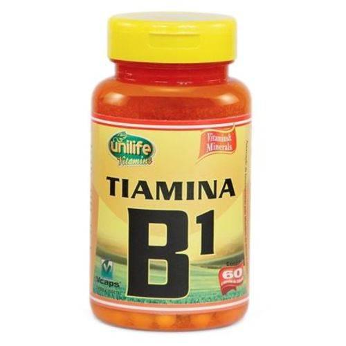 Vitamina B1 60 Cápsulas 500mg Tiamina - Unilife