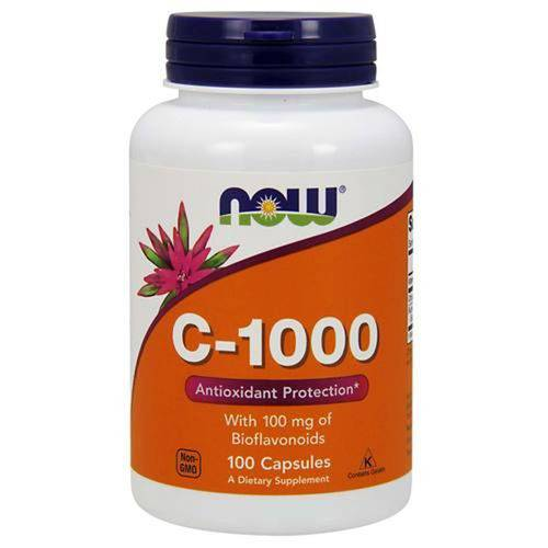 Vitamina C-1000 Now Foods -100 Comprimidos