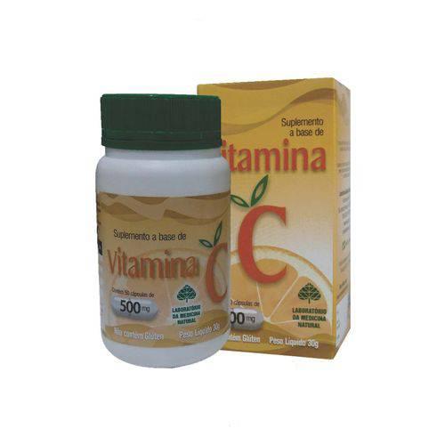 Vitamina C 50 Cápsulas 500 Mg
