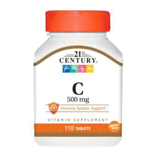 Vitamina C 500 110 Tabletes - 21 St Century