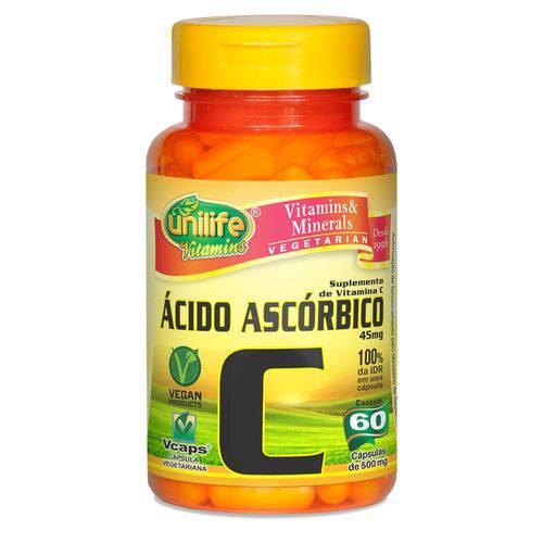 Vitamina C 60 Capsulas Unilife
