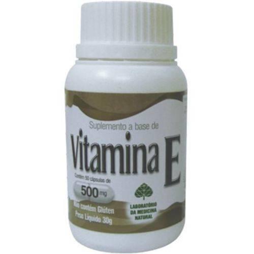 Vitamina e 60 Cápsulas 500mg Medinal