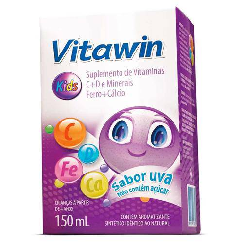 Vitawin Kids Líquido Sabor Uva 150ml