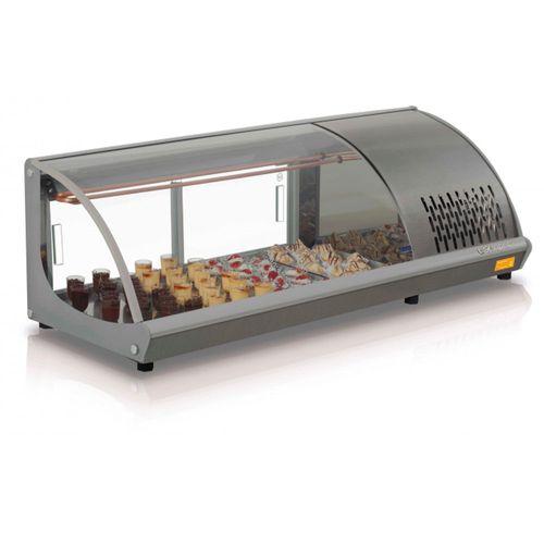 Vitrine de Sushi GVRB120 Gelopar Sushi GVRB120 Inox 110v
