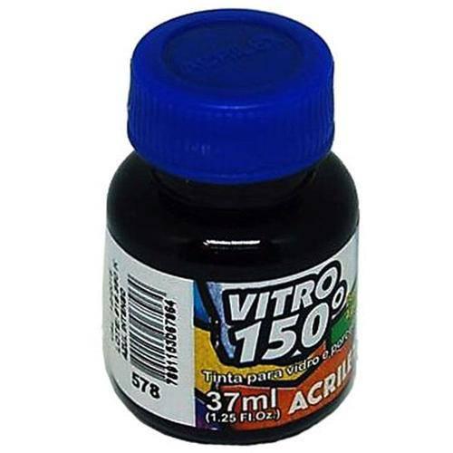 Vitro 150º Acrilex Azul Intenso 37ml
