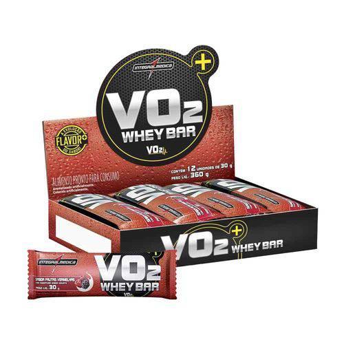 Vo2 Protein Bar 12 Unidades - Frutas Vermelhas - Integralmedica