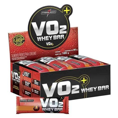 Vo2 Protein Bar 12 Unidades - Integral Médica - Sabor Cookies And Cream