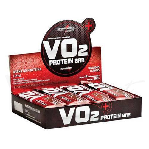 Vo2 Protein Bar Cookies Caixa 12 Unidades - Integralmedica