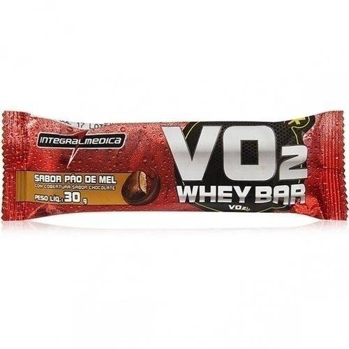 VO2 Protein Bar, Pão de Mel 30g - Integralmedica