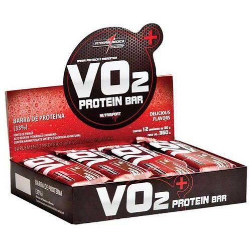Vo2 Slim Protein Bar (Caixa com 12 Barras) - Integralmédica