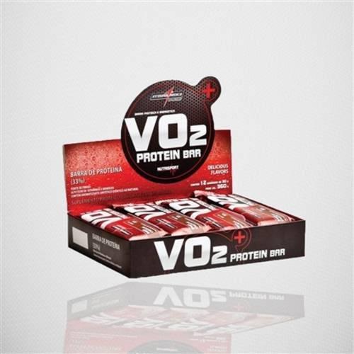 VO2 Whey Bar com 12 Barras Integralmédica