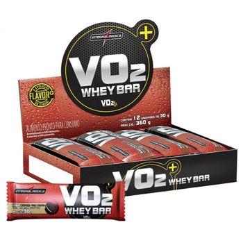 VO2 Whey Bar Cookies 30g - 12 Unidades - IntegralMedica