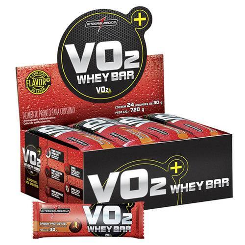 Vo2 Whey Bar Pão de Mel 30G - 24 Unidades - Integralmedica