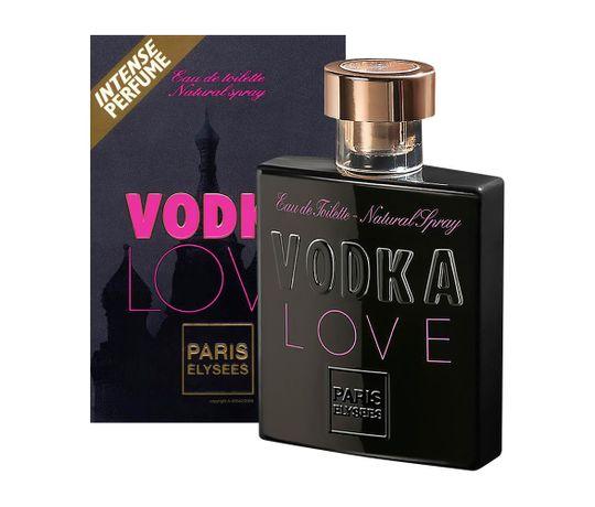 Vodka Love de Paris Elysees Eau de Toilette Feminino 100 Ml