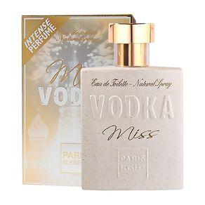 Vodka Miss de Paris Elysees Eau de Toilette Feminino 100 Ml
