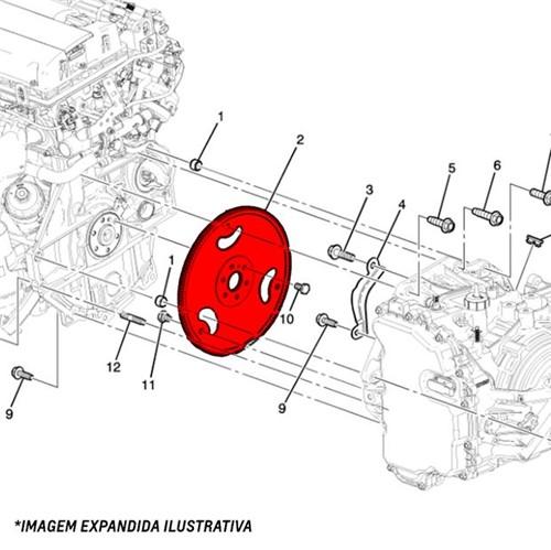 Volante do Motor 2.0 Astra /vectra /zafir