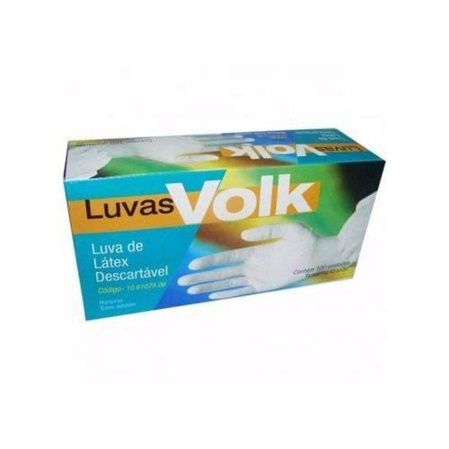 Volk Luvas P/ Procedimentos Látex G C/100