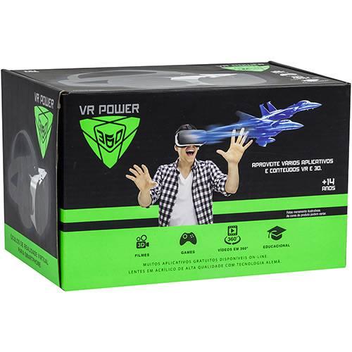 Vr Power 360 - Óculos de Realidade Virtual