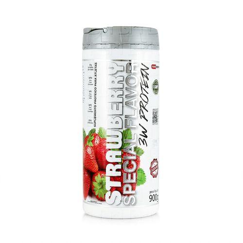 3W Protein Special Flavor 900g - Procorps 3W Protein Special Flavor 900g Morango - Procorps