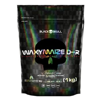 Waxymaize D-R Refil Sem Sabor 1kg - Black Skull