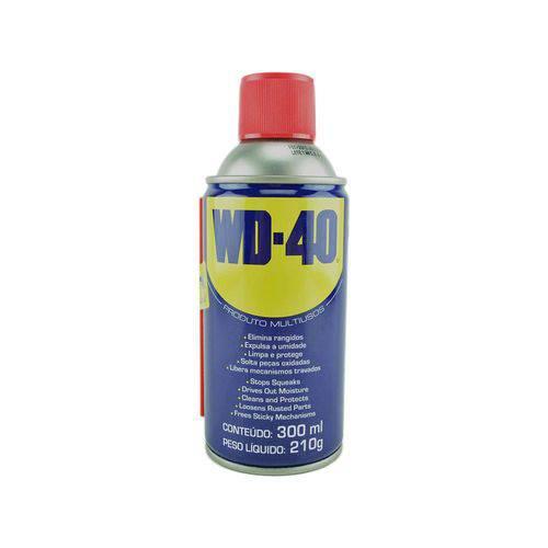 Wd40 Desengripante Wd40 300 Ml Wd40 Spray - Elimina Rangidos / Expulsa a Umidade / Limpa e Protege