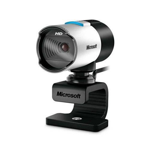 Webcam Microsoft Q2F-00013 LifeCam Studio HD Preto/Prata