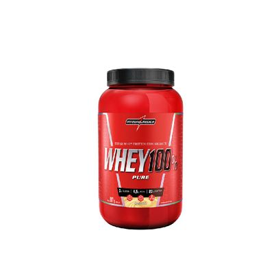 Whey 100% Pure 907g Integralmédica Whey 100% Pure 907g Banana Integralmédica