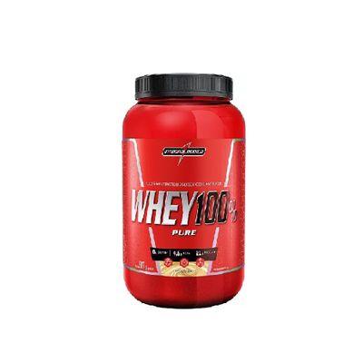 Whey 100% Pure 907g Integralmédica Whey 100% Pure 907g Baunilha Integralmédica